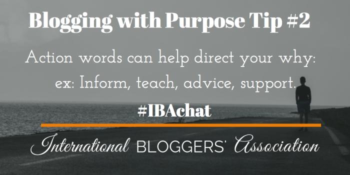 Blogging with Purpose 2