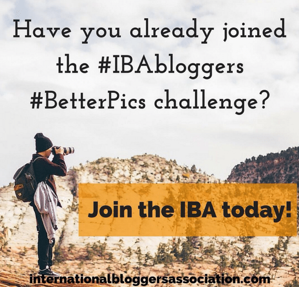 IBA #BetterPics Photo Challenge