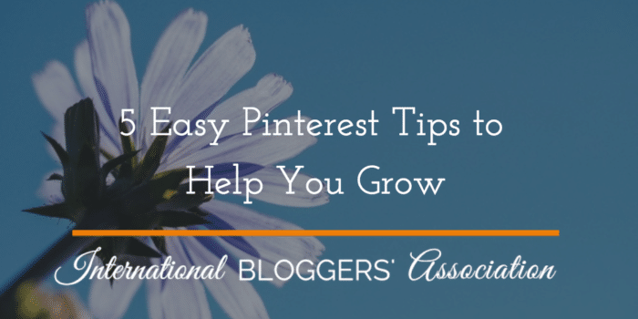 These 5 Easy Pinterest Tips will help you grow followers and get your Pins out there!