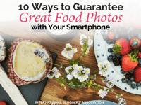 Taking amazing food photos can be quite challenging especially if you are in a restaurant. These 10 tips will have your pictures looking like a pro!