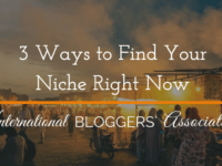 You've got a life-changing message to share! You've got to find the right audience to share it with! Let's talk about how to FIND your niche... 3 Ways to Find Your Niche Right Now