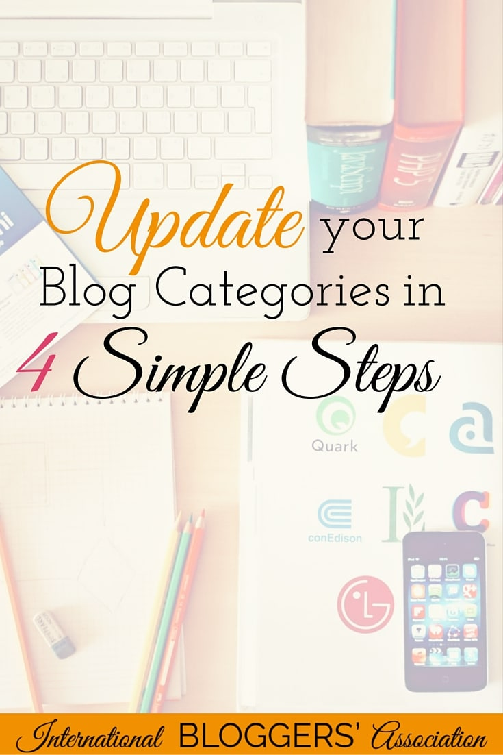 Categorizing and recategorizing your blog posts can be a boring, tedious task, to say the least. Unfortunately, it's necessary to do from time to time. Today I'll tell you how you can update your blog categories in 4 simple steps.