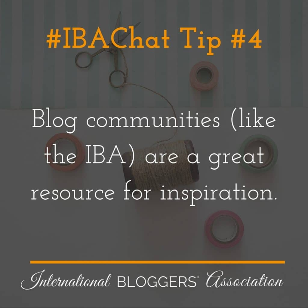 IBAchat tip inspiration 4