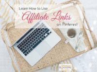 You can use affiliate links on Pinterest again! Learn how it works, how to disclose, and how to get started using your affiliate links on Pinterest.