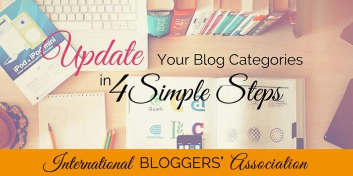 Update Your Blog Categories In 4 Simple Steps