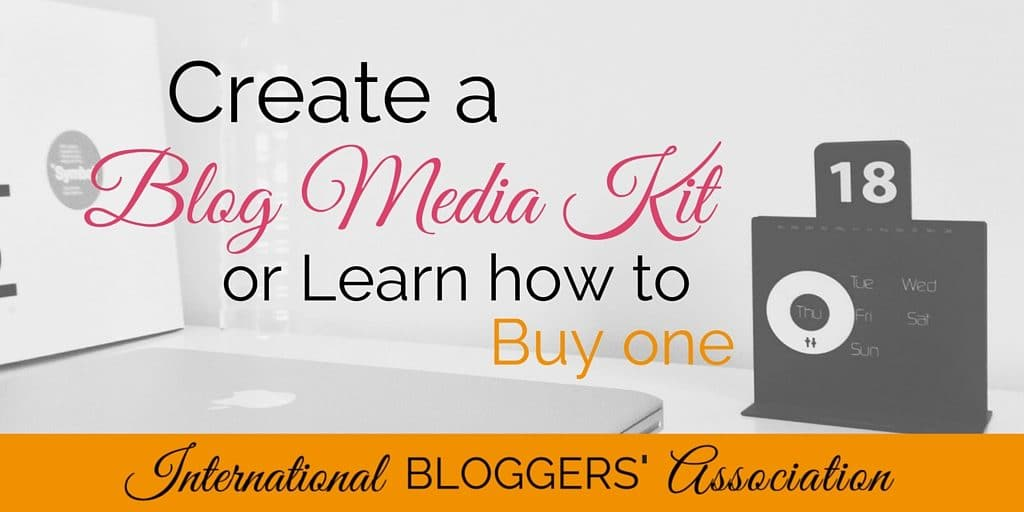 If you want to make money with your blog, create a blog media kit to act as a business card and resume for it. Learn how to create, buy, and leverage one!