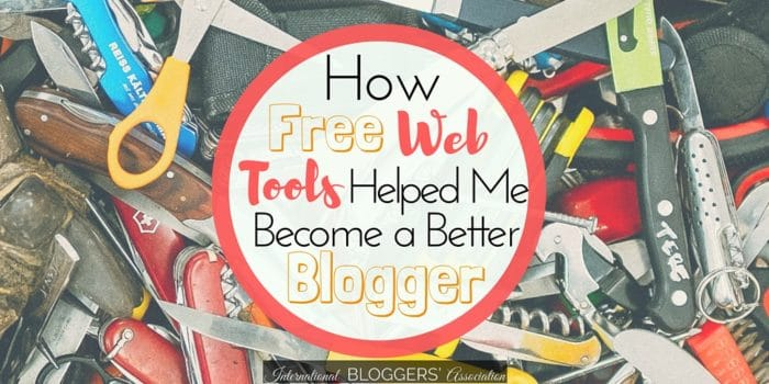 Want to become a better blogger? Find out how these free web tools helped me become a better blogger. They can help you become a better blogger too!
