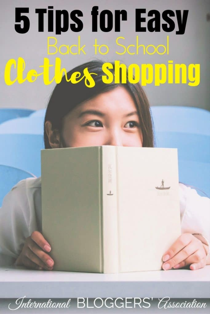 Back to School Clothes Shopping can be a nightmare and very expensive! Learn our top 5 tips to help you stay within your budget and still be stress-free. International Bloggers Association