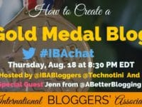 A new reader gives a blog just a few seconds to make a good impression before they leave, sometimes even less time than that! Learn 5 easy ways to create a gold medal blog that will drive readership and win rave reviews.
