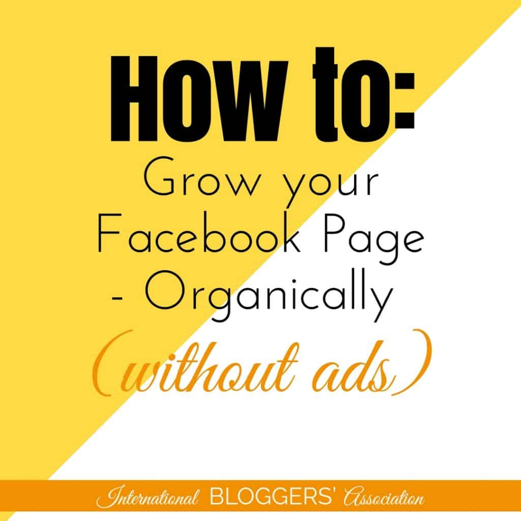 If you're a blogger or business, then here's a simple fact: you need to grow your Facebook page. And organically growing your page is ideal for any budget.