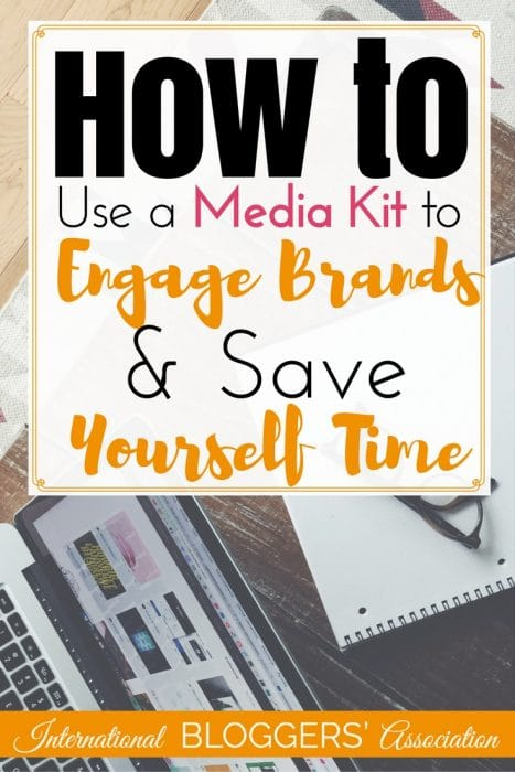 Learning how to use a media kit to engage brands and save yourself time is one way to increase income as a blogger. Tips and templates included!