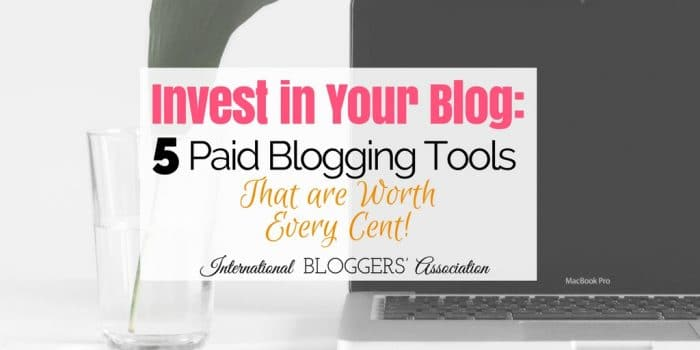 Blogging tools are not all created equal! Find out what paid blogging tools are worth every cent and why you need to invest in your blog.