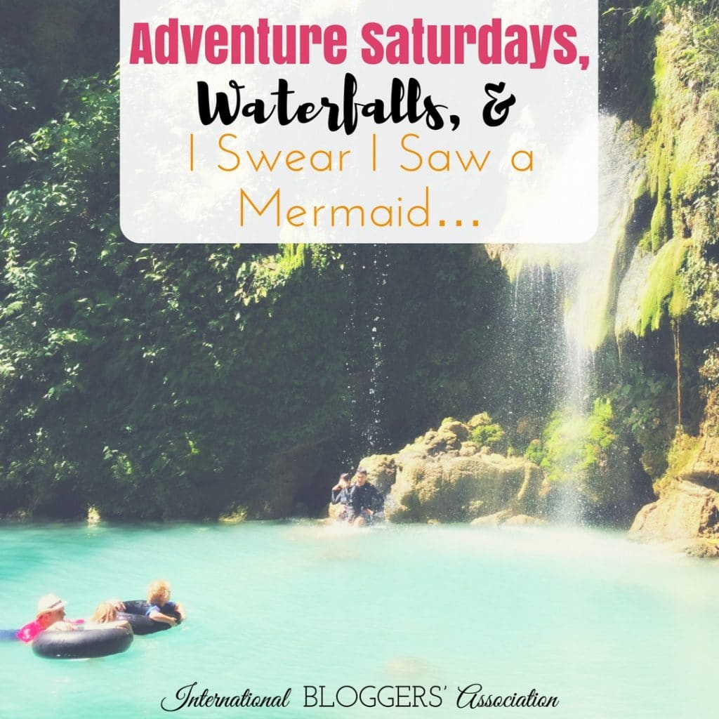 Adventure Saturdays, Waterfalls, and I Swear I Saw a Mermaid... by International Bloggers Association featuring July's Wall of Fame Blogger