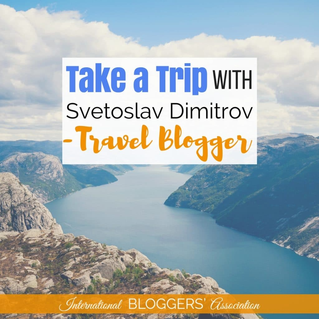 Svetoslav Dimitrov is a Bulgarian travel blogger & lifestyle blogger. He is also a new IBA member with a sweet Instagram account you must check out!