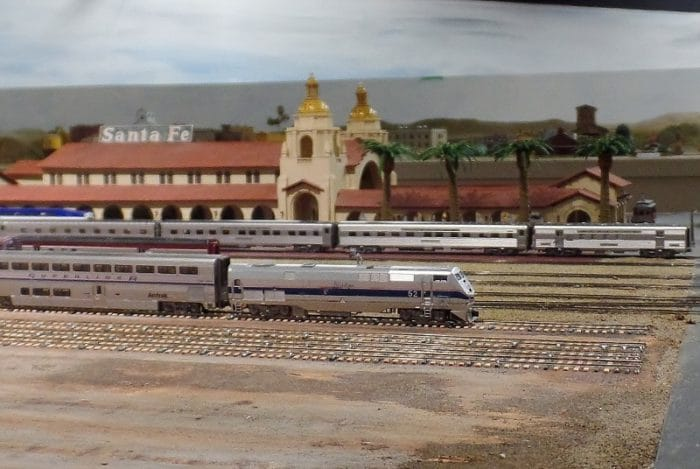 Trains at San Diego Model Railroad Museum
