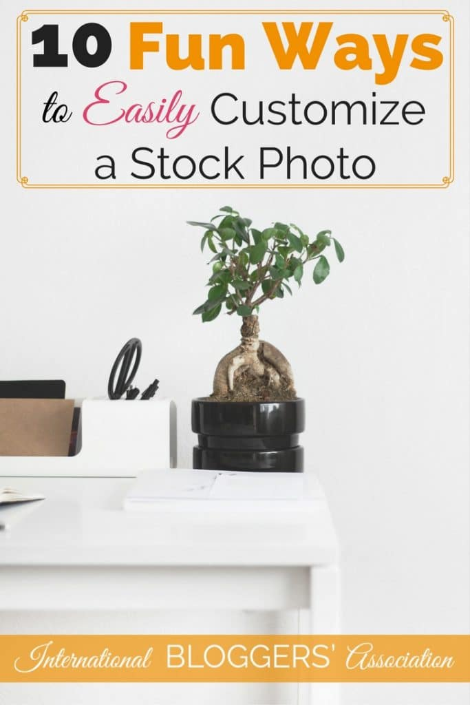 Are you ever exhausted looking for stock photos? Learn how to customize a stock photo and turn it into ten fantastic graphics for your blog using one photo!