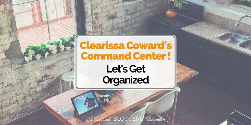 Clearissa Coward blogs about organizing, redesigning, upcycling, crafting, and DIYing. Let's see how she can help us get organized! You know we need it.