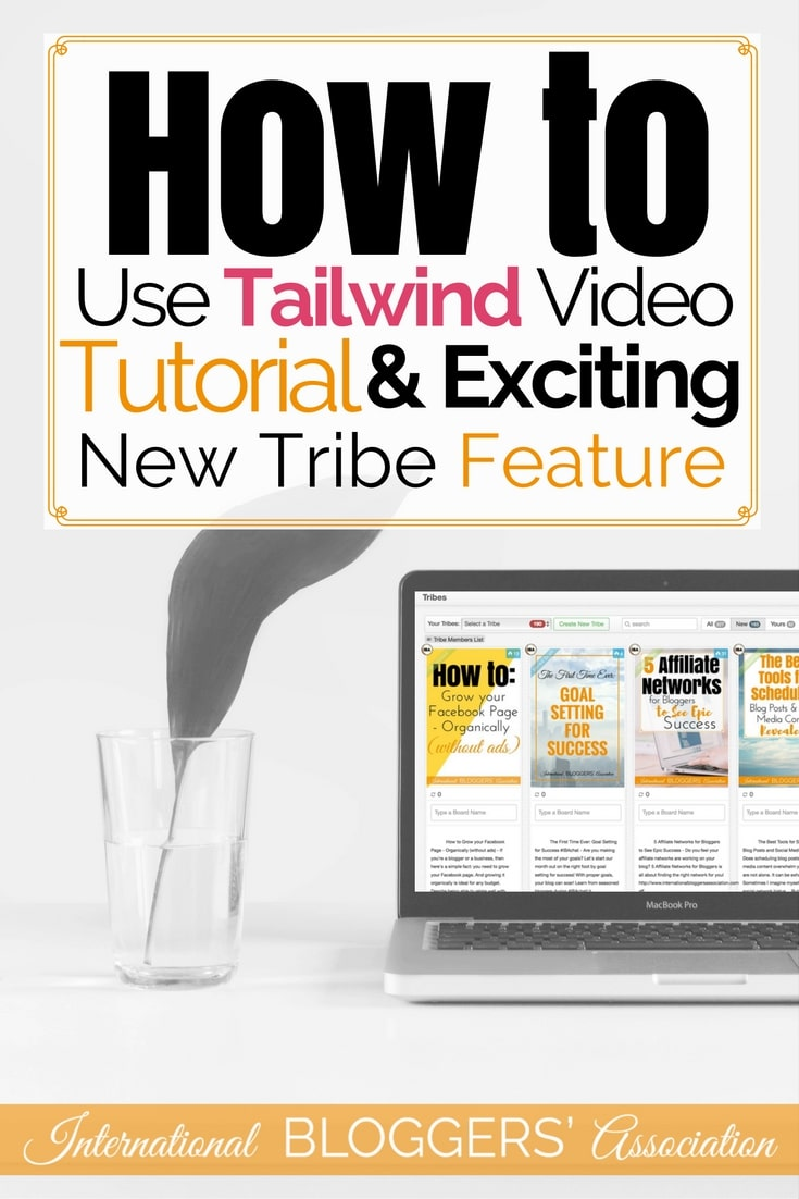 Are you struggling to find enough time to keep up with your Pinterest Schedule? Tailwind Video Tutorial shows you how I plan a month of Pinterest Repins and why I Love their new Tribes feature. You can take the stress out of Pinterest using this blogging tool!