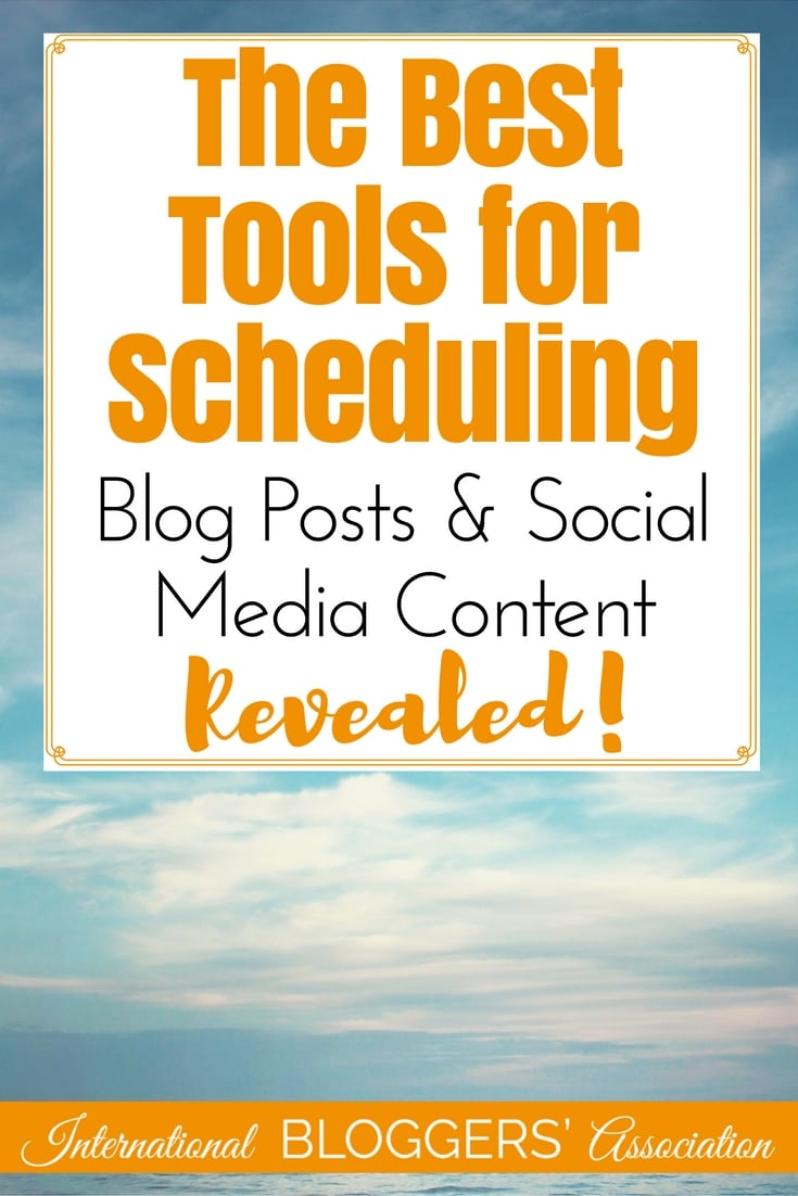 The Best Tools for Scheduling Blog Posts and Social Media Content Revealed!