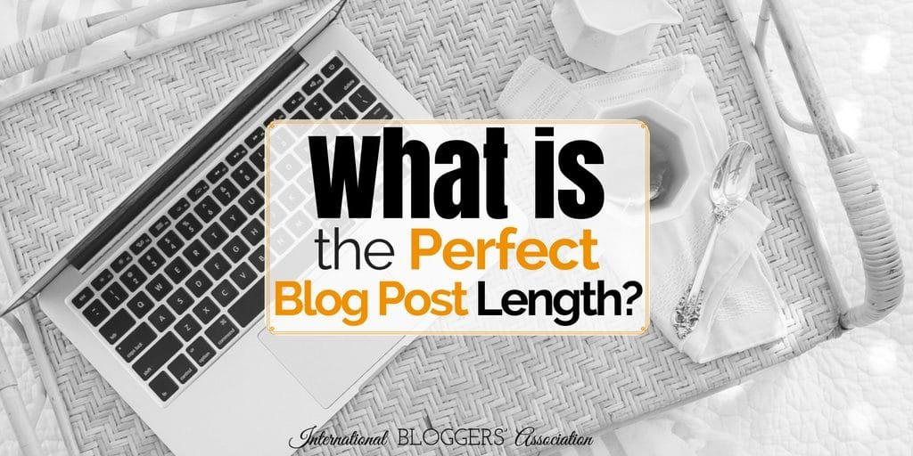 So What Is the Perfect Blog Post Length?