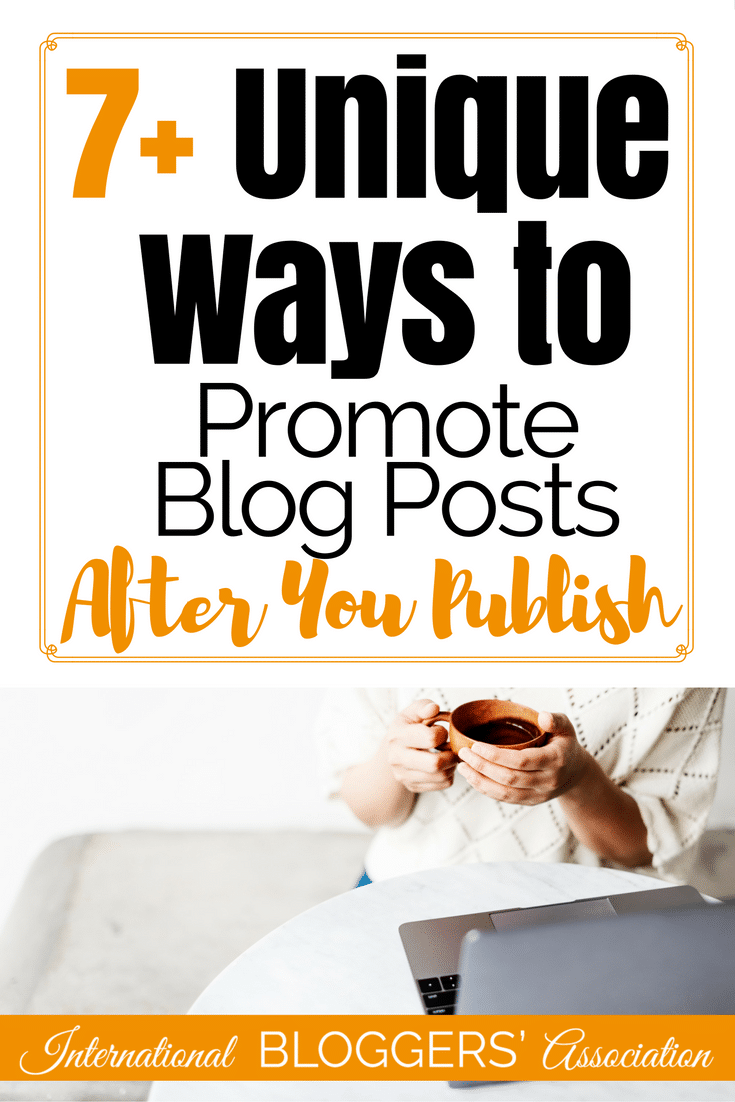 If you are anything like me you are always looking for new ways to promote blog posts. Let's think outside the box and review 7 plus unique ways to promote.