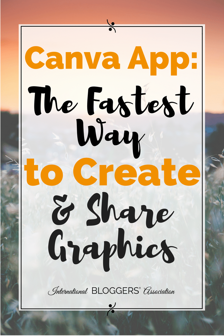Canva app the fastest way to create and share graphics for Who can design an app for me