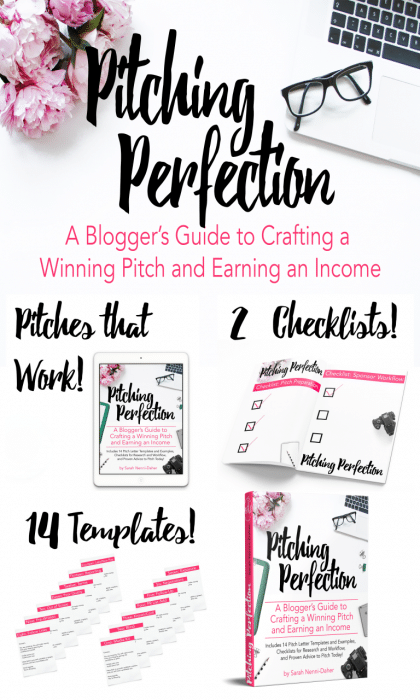 Bloggers: What is holding you back from pitching sponsored posts? You can overcome all your obstacles and learn how to pitch sponsored posts and monetize your blog!