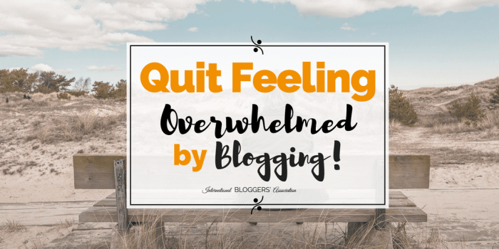 Quit Feeling Overwhelmed by Blogging with Genius Blogger's Toolkit