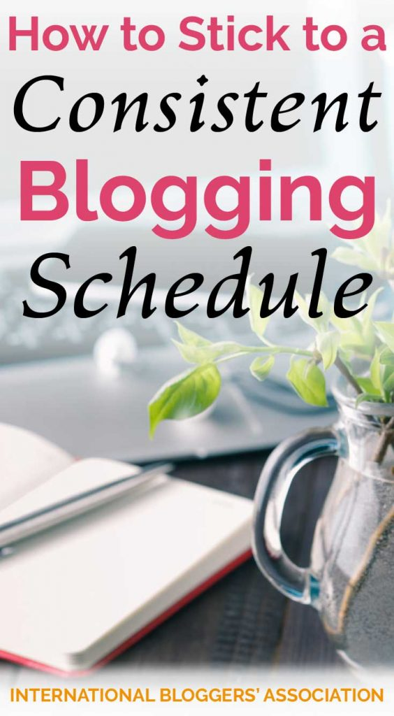 Consistency is key when you plan a blog schedule! Let me share with you some tips to help you easily stick to your blogging schedule. #blogging #blogschedule