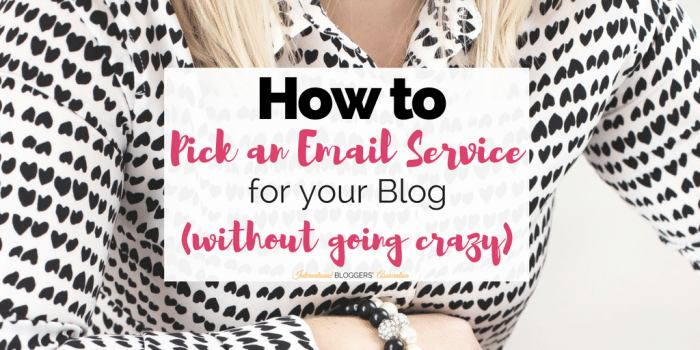 How to Pick an Email Service for your Blog (without going crazy)
