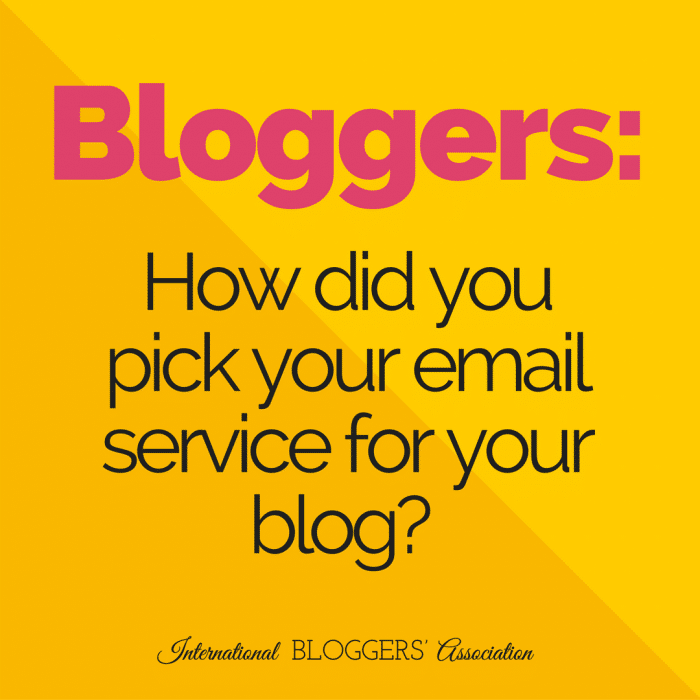 Every blog needs an email service! But, how can you pick an email service without going crazy? We are going to help you pick the best service for your blog!