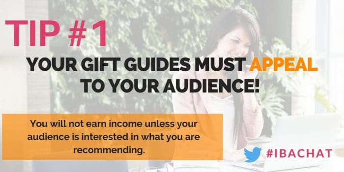 In this week's #IBAChat, we will discuss the five essential elements you need to take to monetize your holiday gift guides, and see them succeed!