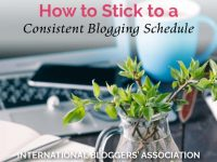 Consistency is key when you plan a blog schedule!Let me share with you some tips to help you easily stick to your blogging schedule. #blogging #blogschedule