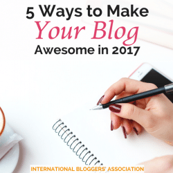 5 Ways to Make Your Blog Awesome in 2017