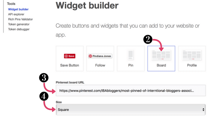 How to Add a Pinterest Board to Your Blog Sidebar