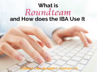 RoundTeam: Why we love to use it to retweet our members! #IBAbloggers
