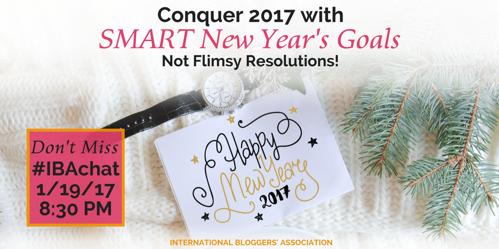 By understanding the key elements of SMART Goals, you can create a strong strategy that you can stick with and truly conquer 2017!