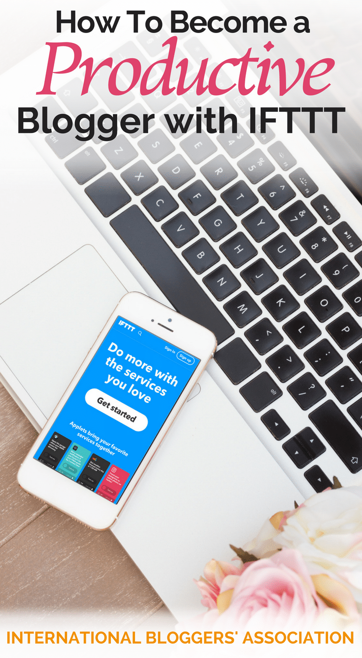 Did you know that you can become a more productive blogger with IFTTT? IFTTT helps you automate your blogger tasks to increase productivity.