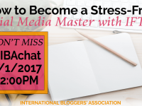In this week's #IBAChat, we'll discuss action-oriented ways to eliminate social media overwhelm. Productivity expert, Debbie Rodrigues will share her tips on how to become a stress-free social media master with IFTTT.