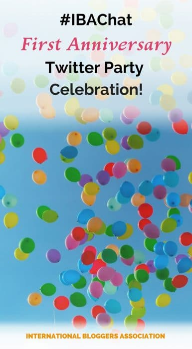 For the past year, the #IBAChat has been sharing action-oriented tips for bloggers. This week, we celebrated our 1 year anniversary milestone with a big Twitter Party and shared our favorite blogging biz tips from the past year.