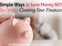 Who wants to save money? Read 6 Simple Ways to Save Money NOW by Spring Cleaning Your Finances right here on the IBA blog.