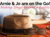 Meet baby boomer travel junkies - Arnie and Jo Are on the Go! They're making their travel dreams a reality and inspiring you to do it too on their travel blog!