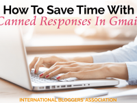 Learn how to save time with Gmail's Canned Responses - Easy to create & use these templates can help you reply to emails quickly and efficiently every time!