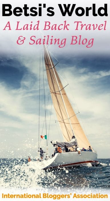 Meet IBA Member Betsi Hill from the travel blog, Betsi's World -- your go-to resource for everything travel, sailing, and food with a side of luxury.