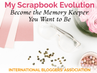 IBA member interview with Christy Strickler from My Scrapbook Evolution -- the creative inspiration to help you become the memory keeper you want to be!