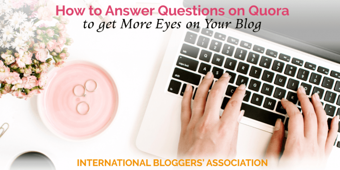 How to Answer Questions on Quora to get More Eyes on Your Blog