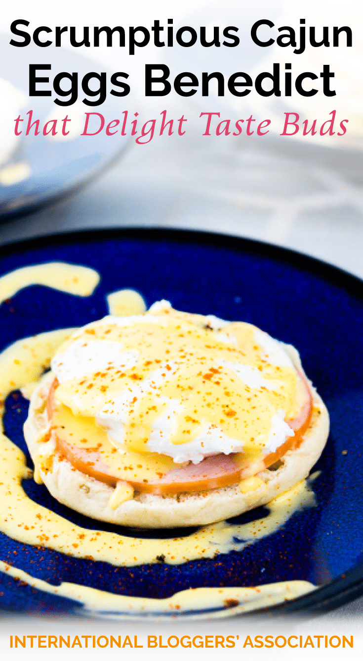 Ever wanted to make the perfect brunch meal? This Cajun Eggs Benedict recipe, made by Krysten Wasik from MomNoms, will set your taste buds soaring.