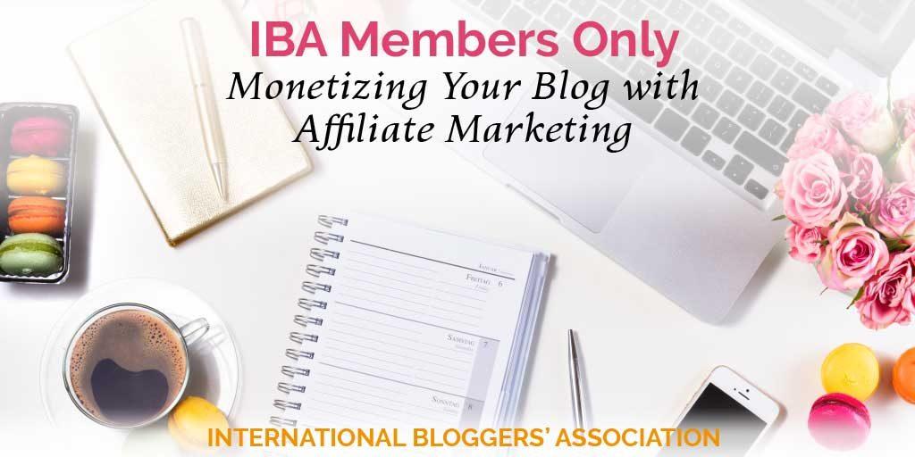Monetizing Your Blog with Affiliate Marketing