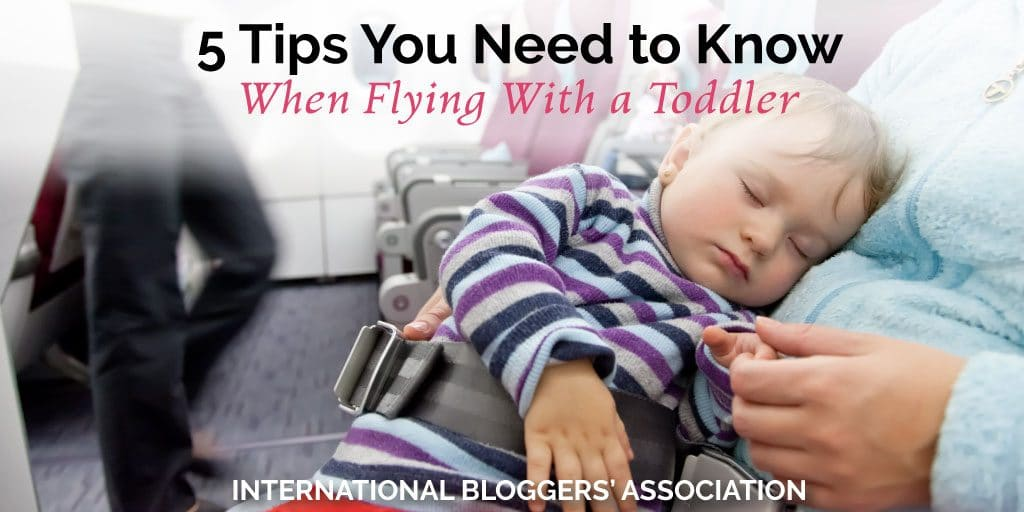 Are you nervous to be flying with a toddler? Learn my tips to make flying with your toddler a peaceful flight instead of having a crying and kicking child.