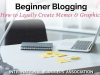 Do you know how to legally create memes and graphics for your blog and social media accounts? We have all the info you need to keep you on the right side of the law!